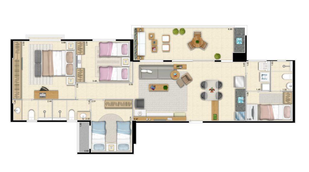 101,50 m²