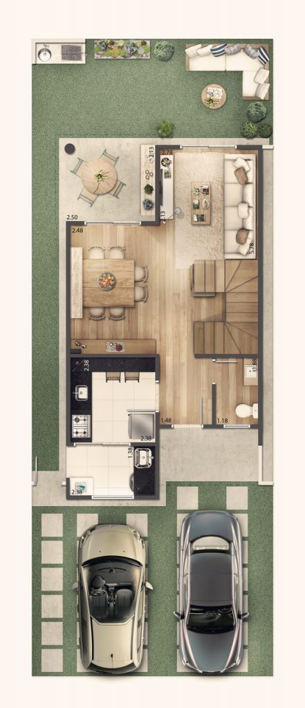 Casa Sobrado 92m² - Terreo
