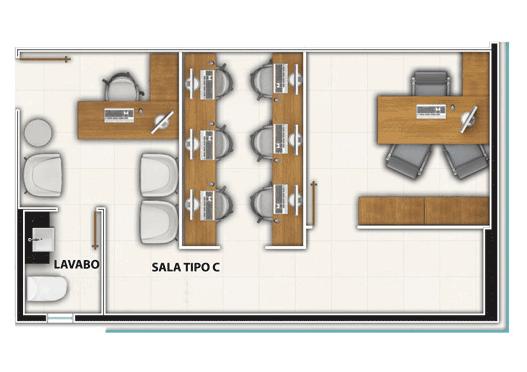 Sala Tipo C