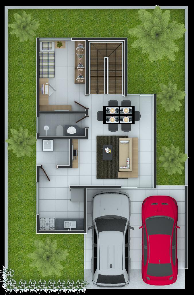 Terreo - Casa 110m²