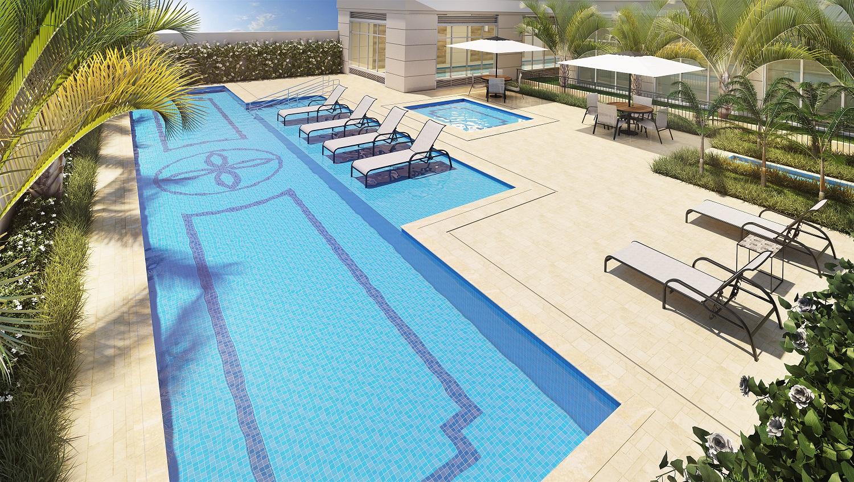 Hamptons park apartamento em s o paulo vila ol mpia for Piscina olimpia sabadell 2018