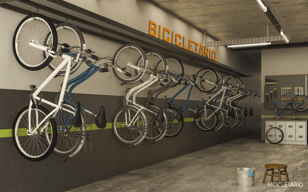 madera-bicicletário
