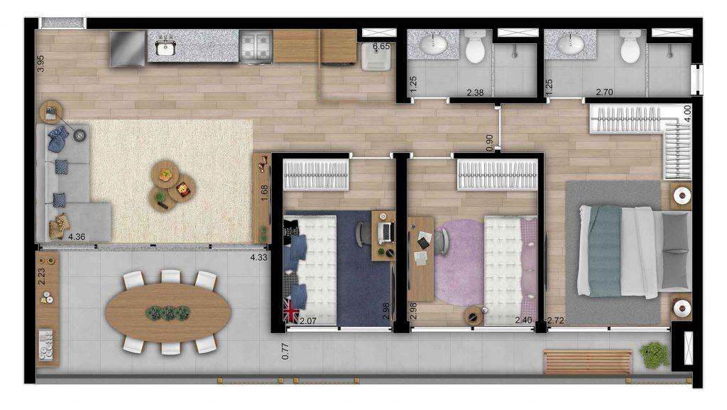 Tipo 3 Dorms