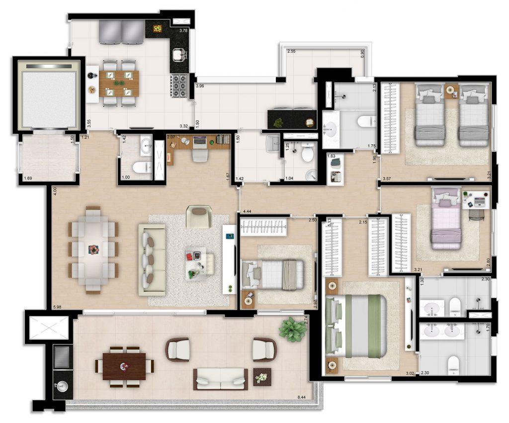 Tipo 4 Dorms