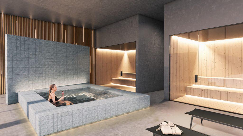 SPA e Sauna – Compartilhada com a Torre Prime