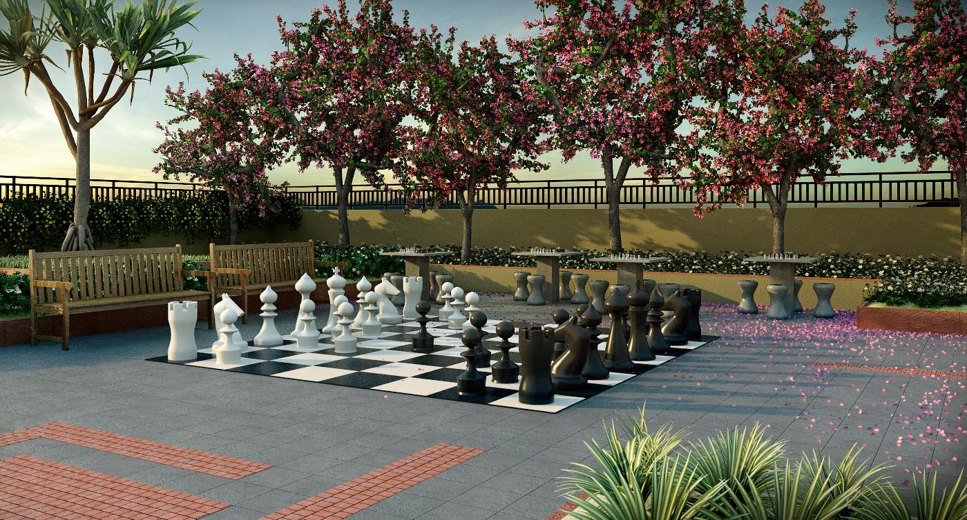 espaço xadrez