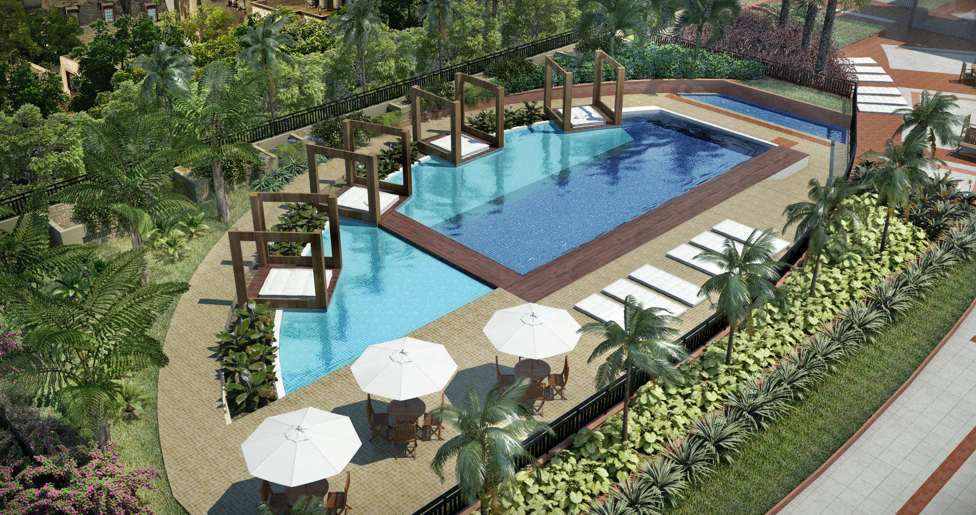 vegus piscina aerea
