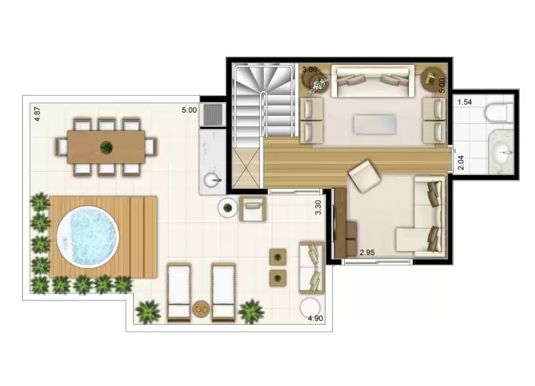 Duplex Superior 133m²