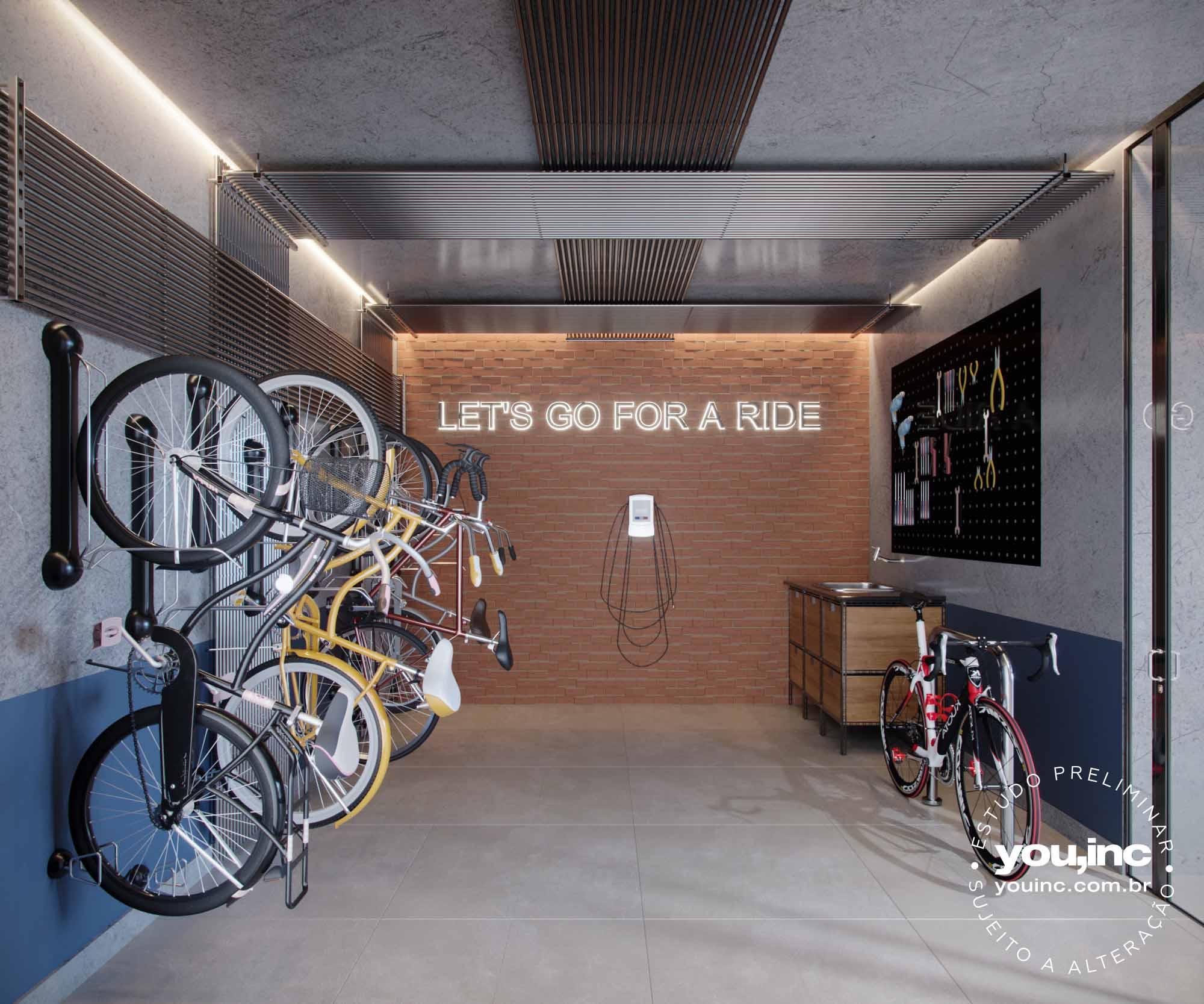 Bicicletário Térreo