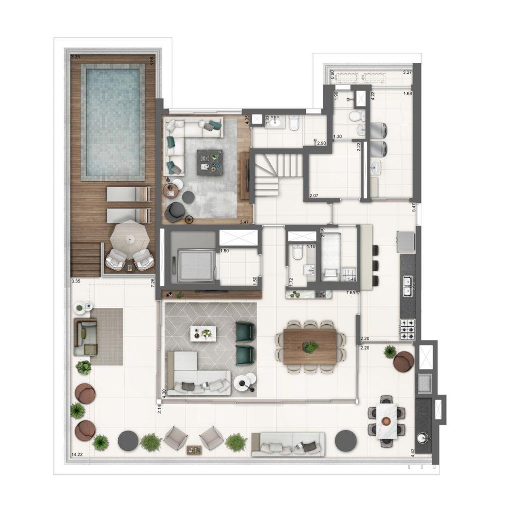 Planta Baixa Duplex