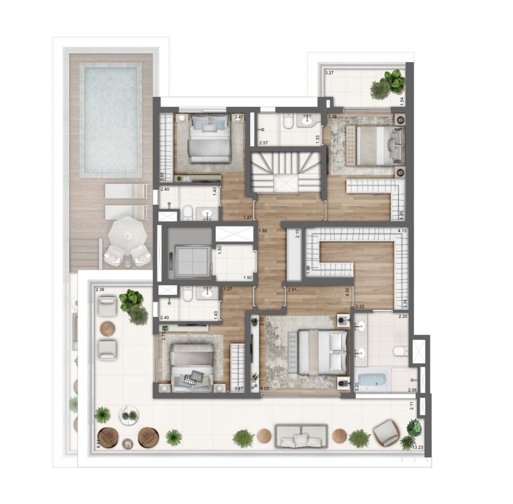 Planta Baixa Duplex Superior