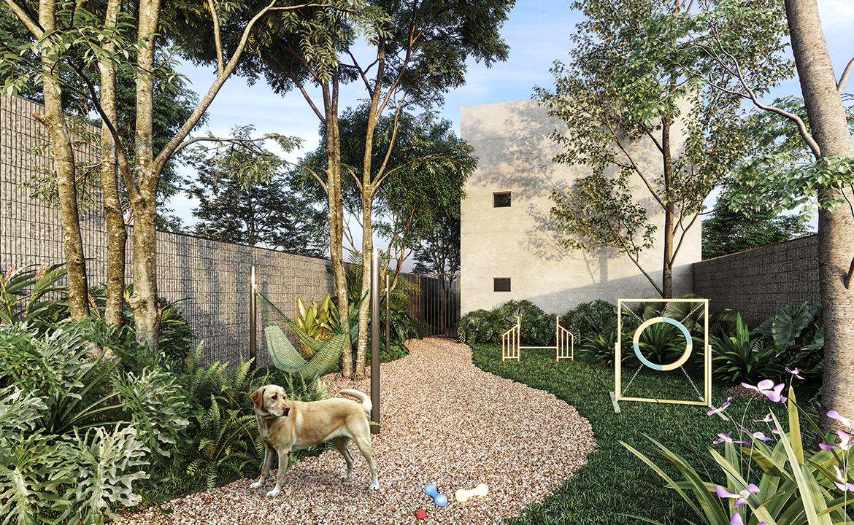 Espaço Pet Perspectiva Ilustrada