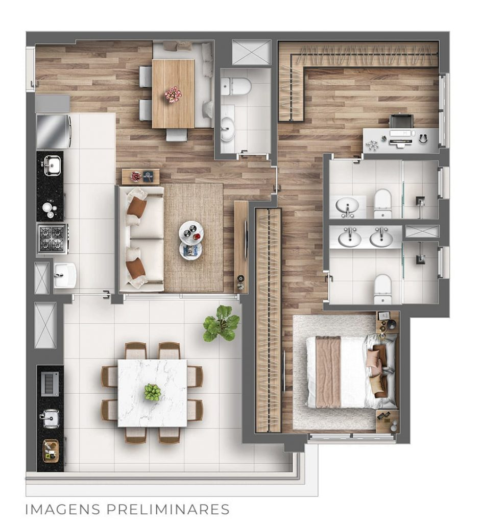 85m² - Personal